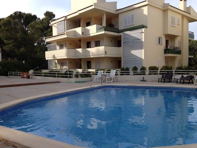 2 Doppelzimmer direkt am Strand - Santa Ponsa - Apartment
