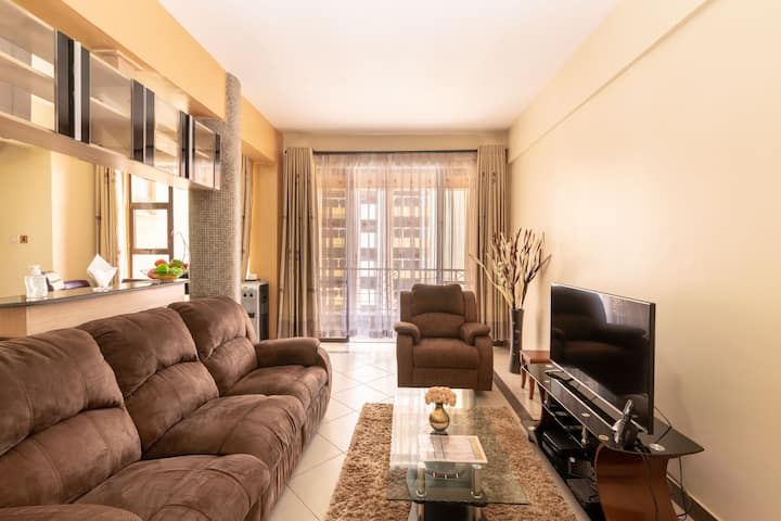 Cosy Apartment with Nairobi City View