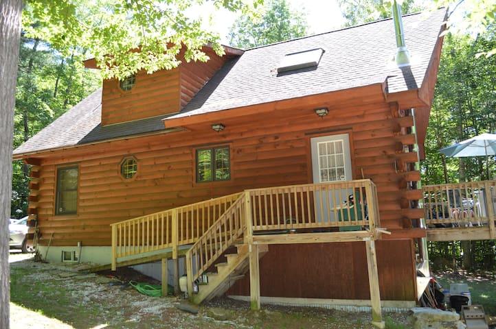 Log Home in Berkshires
