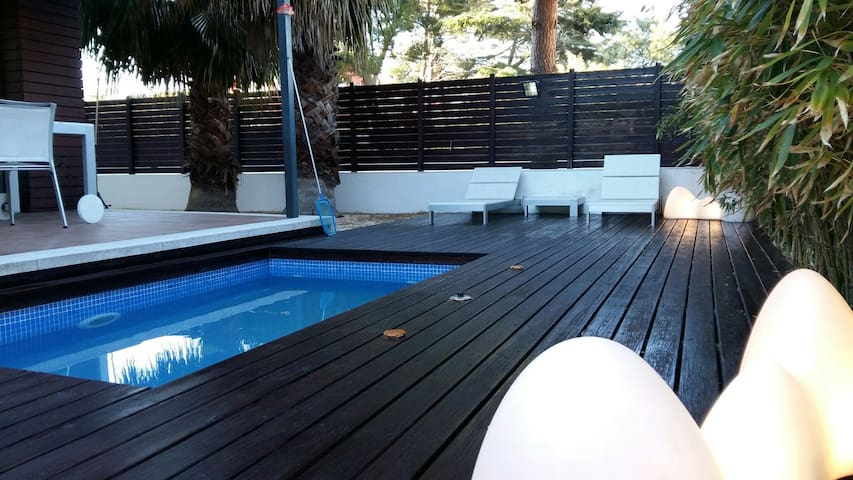 LUXURY HOME TERRACE & POOL JACUZZI - Platja d'Aro - Huis