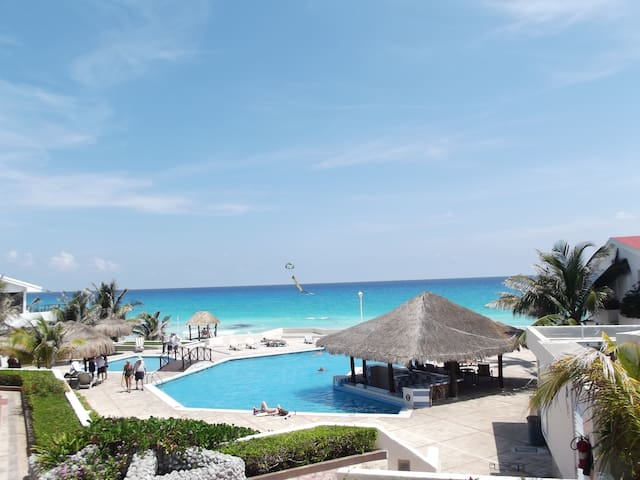 Tu departamento frente al mar. - Cancún - Társasház