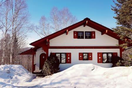 Swiss chalet loft - 圣阿加特德蒙(Sainte-Agathe-des-Monts) - 牧人小屋