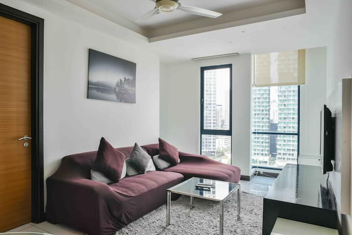 2BR 2Bath Serviced Apartment @ Bukit Bintang KL