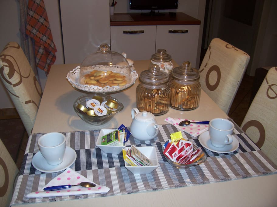 ...facciamo colazione ...