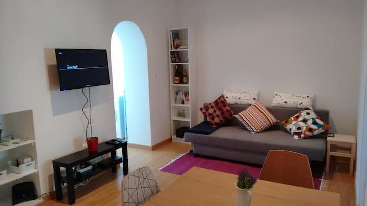 Lisbon's Charm: 2 bedroom renewed classic flat