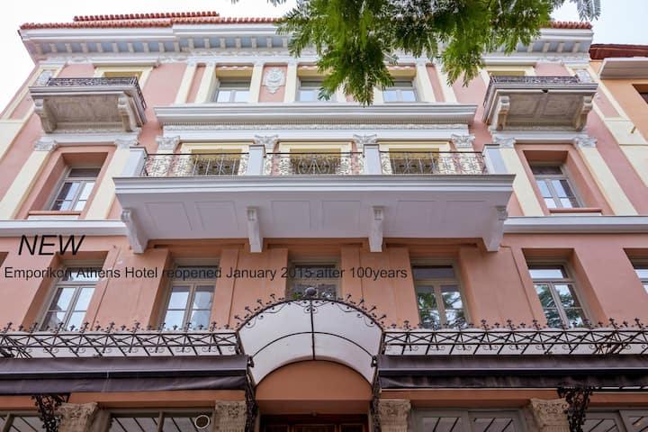 Basic Room  with City View - Emporikon Athens