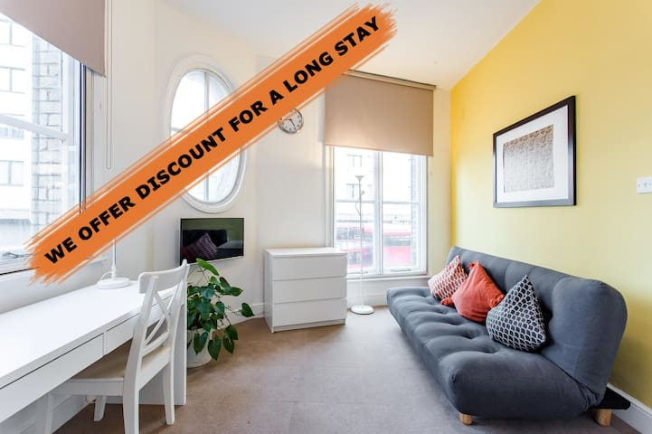 OFFER DISCOUNT COMFORTABLE PRIVATE 1 BED APARTMENT