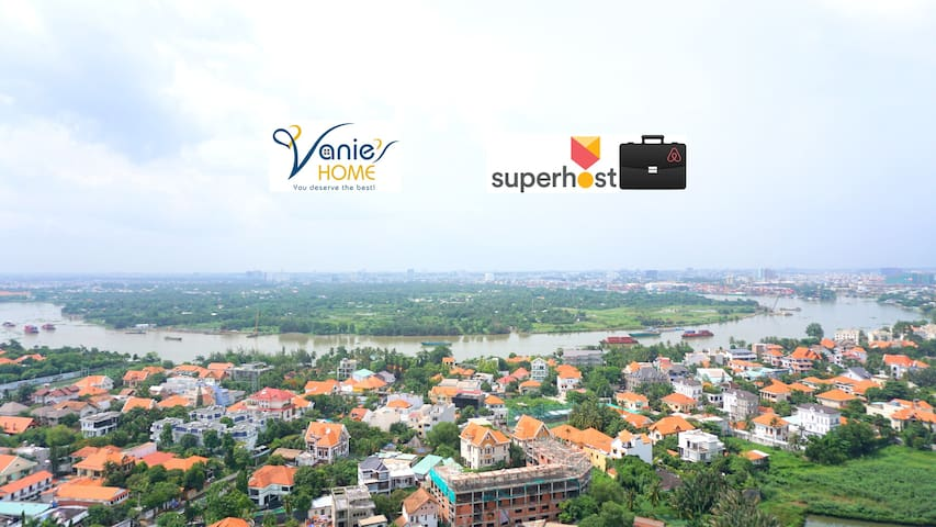Riverfront cozy condo with pool in Thao Dien