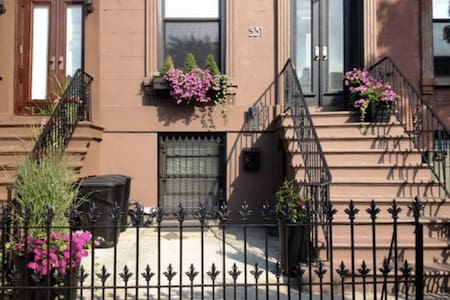 Gorgeous Garden Apartment in Park Slope - Brooklyn - Maison de ville