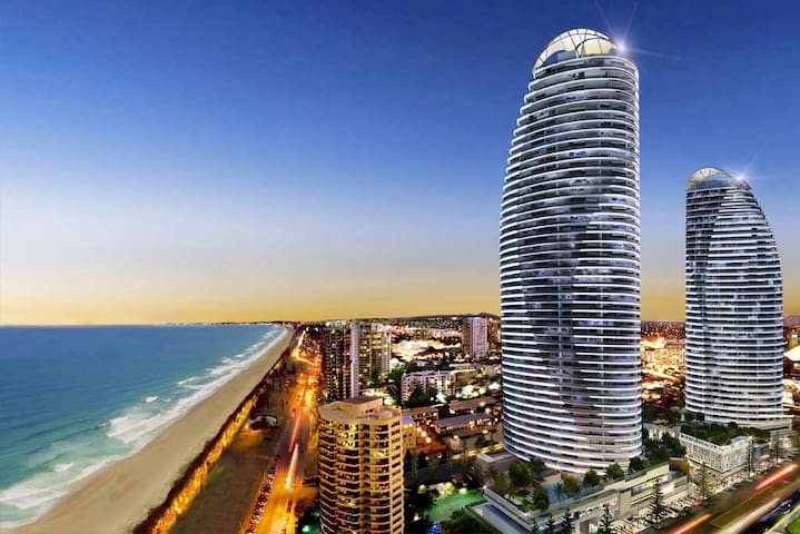Room with an Oracle view - Broadbeach - Huoneisto