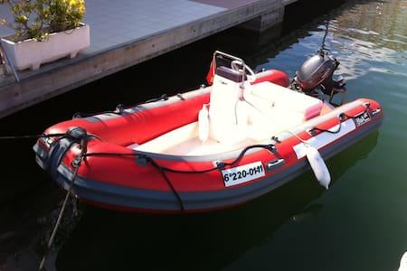 Semirrígida Bwa 404 +Yamaha 15cv - Santa Pola - Barco