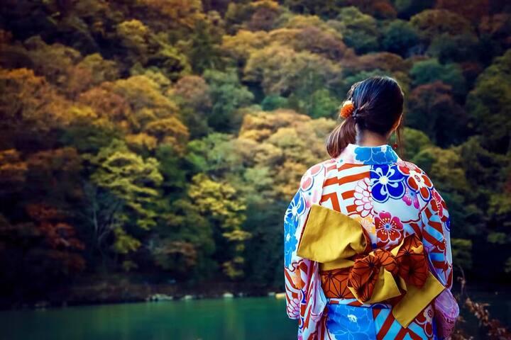 Arashiyama 5min by JR train from Kyoto kameoka sta