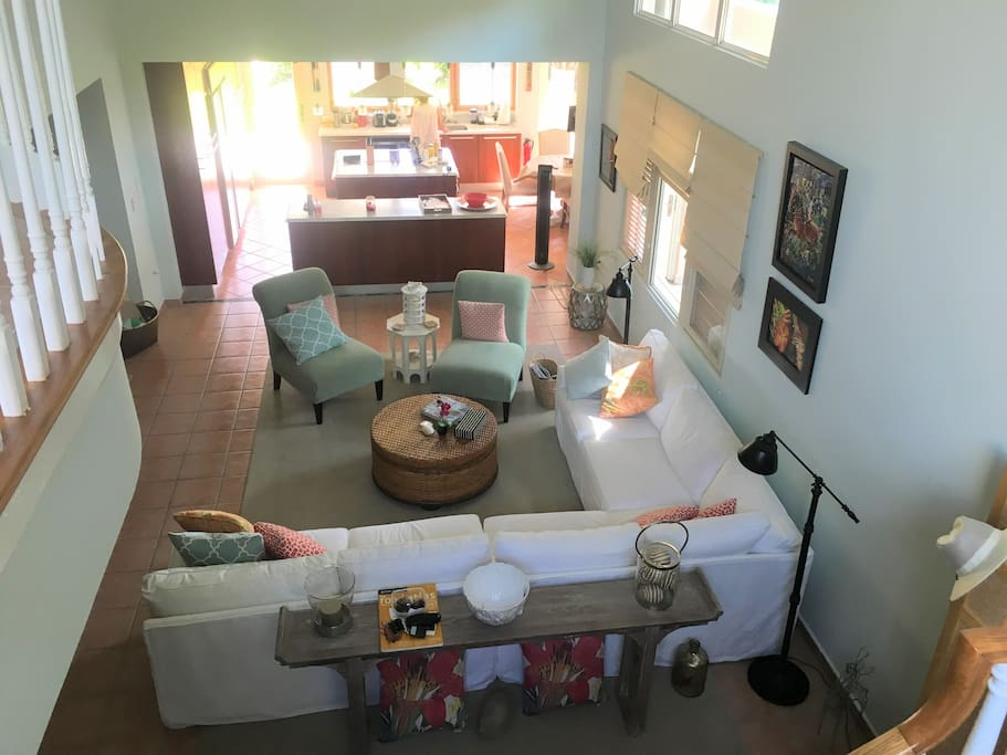 Two Story open plan