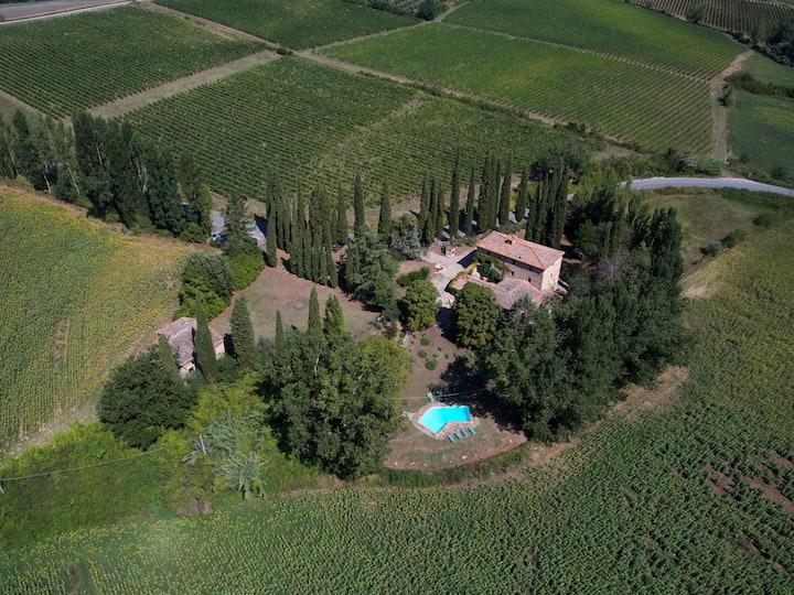 Virgilio - Casa Tolomei - Castello di Bossi