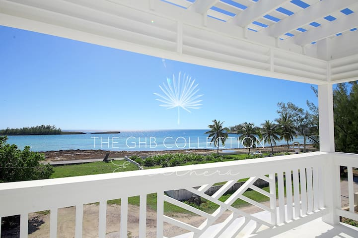 Beautiful views of Anchor Bay, Governor's Harbour, directly from your balcony!