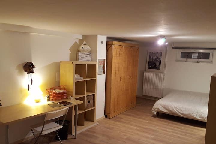 Studio confortable en périphérie de Strasbourg