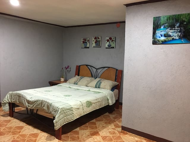 Suite room with its own terace & shower room. p2000/night with free breakfast,good for two!!!