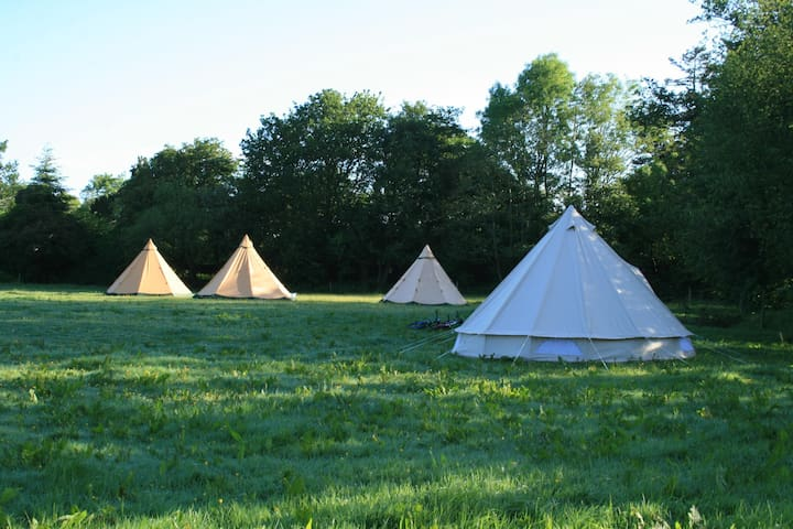 Wilton Mills Teepees - groups of 10 plus