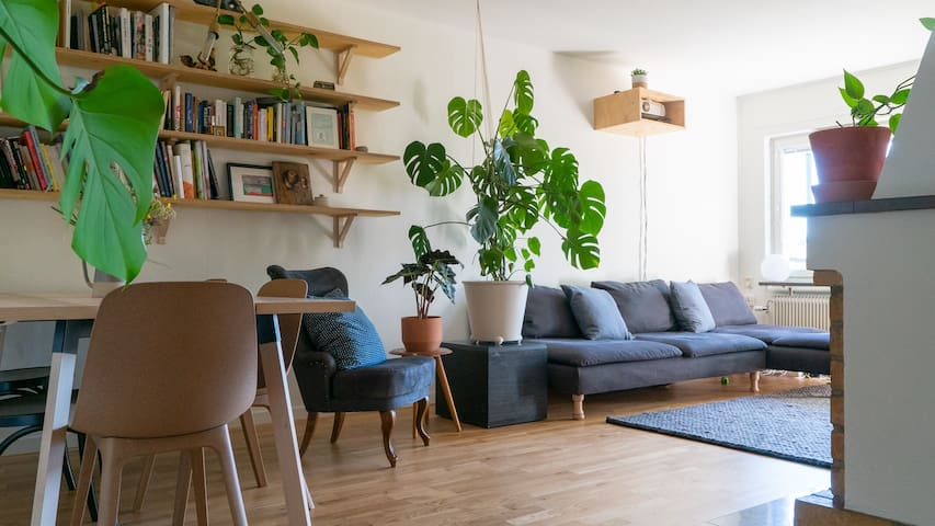 Sunny & Family Friendly Apartment north Stockholm