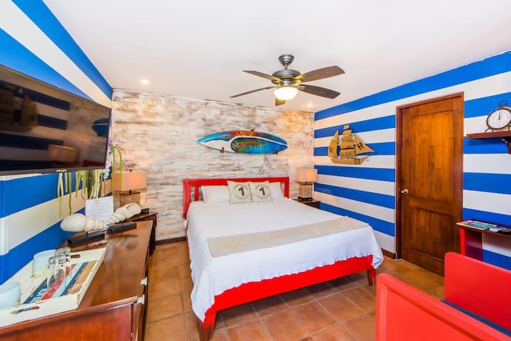 The Nautical Room at Sirena Serena