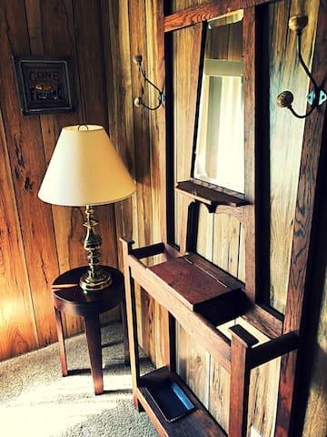 Rustic furnishings