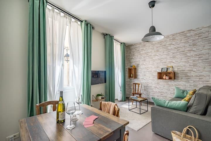 Appartement cosy au cœur du Panier à Marseille