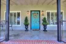 front entrance to our spacious gorgeous home for you to enjoy!
