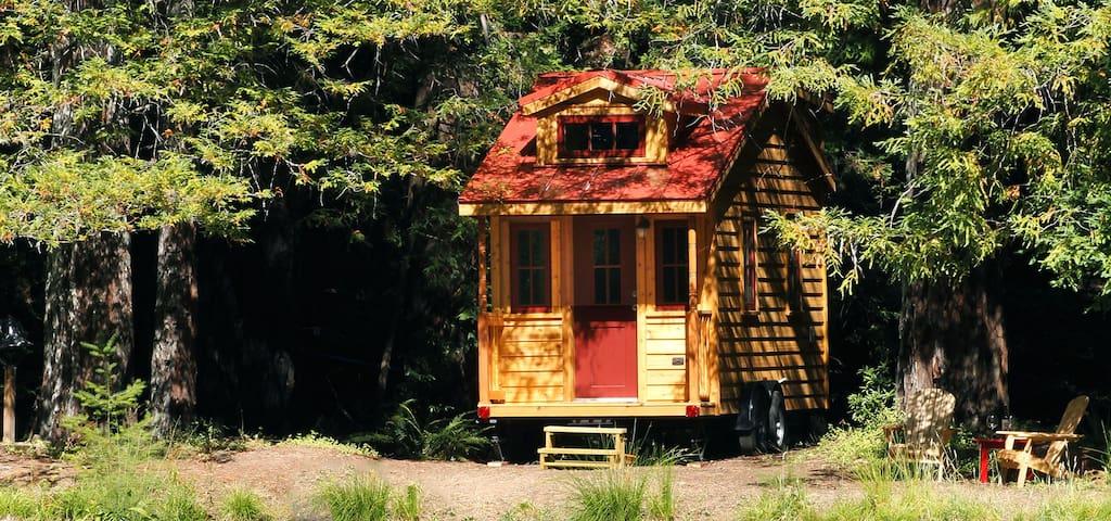 Tiny House in Tiny Home Community