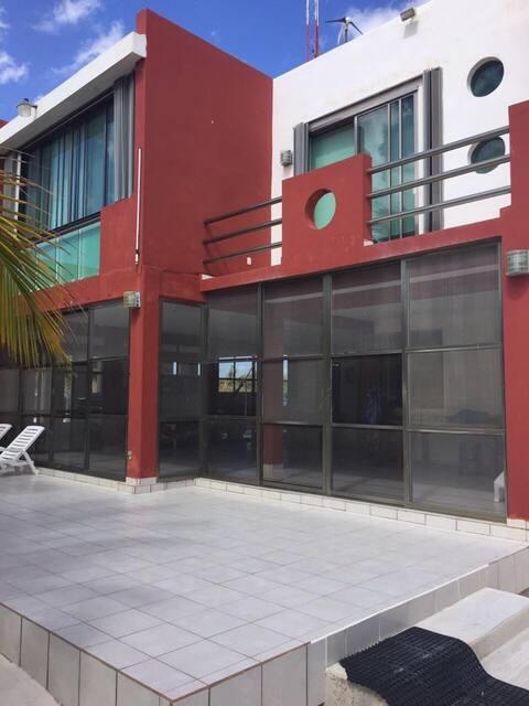 Casa Majo: Rio Indio-El Placer. Casa frente al mar