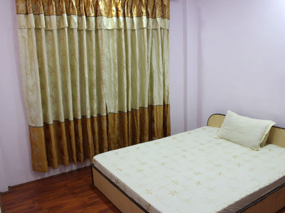 Bed room with very comfortable mattress and Pillow