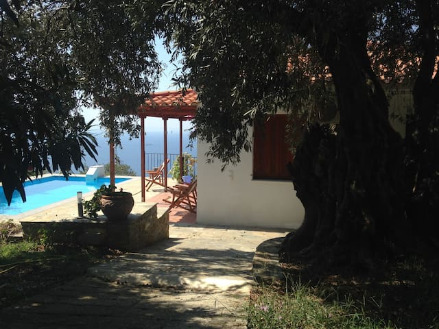 Panorama villa, Skopelos in the Greek Islands