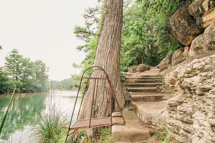River Terrace House Best Swimming Hole in Texas