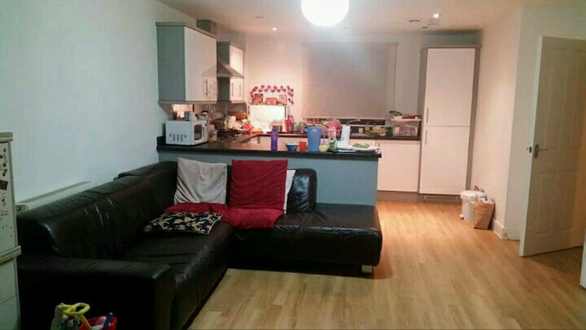 1 Double bedroom available at Gants Hill (Ilford) - Ilford - Apartemen