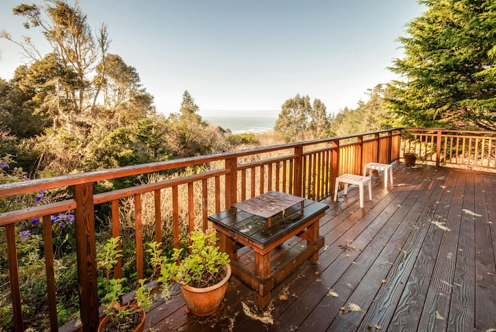 Become inspired by the sea views from the deck! Dog-friendly too!