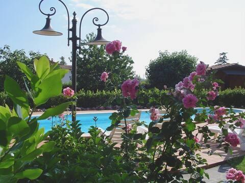 Vakantiehuis in de buurt van Perugia voor 4