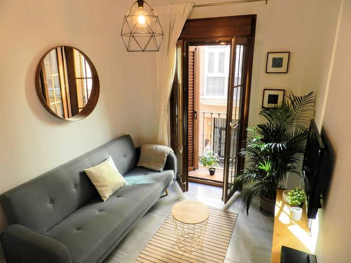 Estiloso apartamento y bien ubicado en Malaga