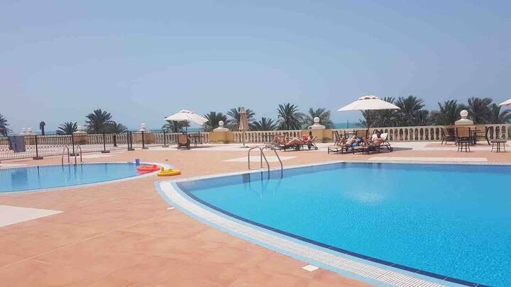 Beautiful Sea View Apartment in Ras Al Khaimah