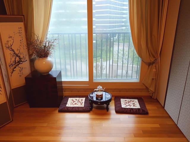 Comfortable & Family-APT(Suwon) - 수원시 - Leilighet