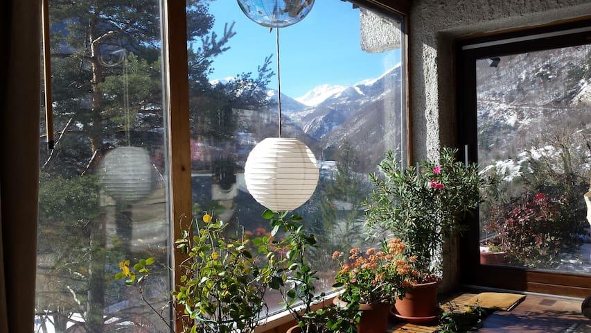 Villa dans les alpes, à la semaine,8 à 9 personnes