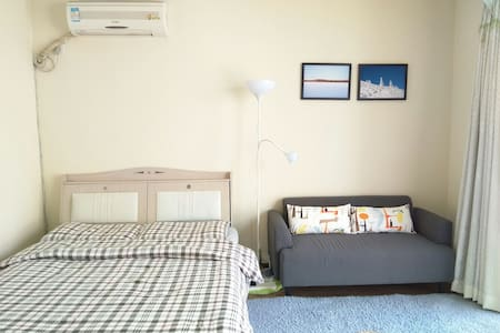 3min to subway cosy/bright apt - Beijing - Apartment