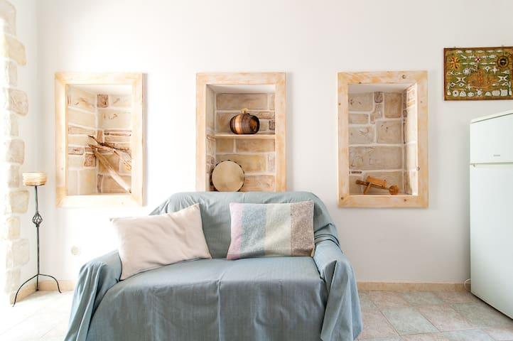 "Casetta""Le Nicchie""nell'antico Borgo Santo Otranto - Otranto - Lägenhet"