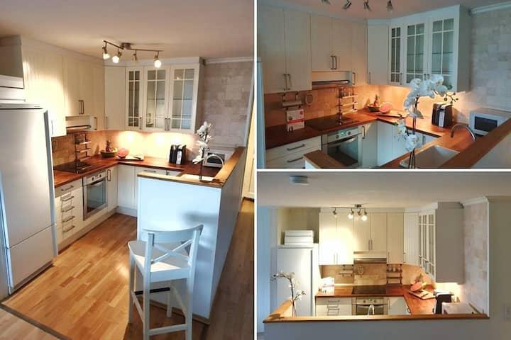 Modern Sea View 1 BR Apartment in Asker, near Oslo
