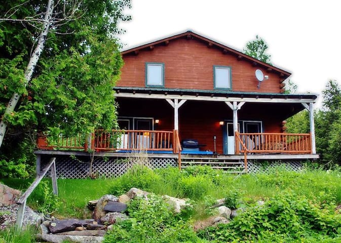 Waterfront 3BR Big Wood Lake Home w/Massive Deck! - Jackman