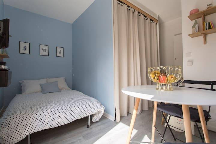 Charmant Studio dans les environs de Montmartre - Париж - Квартира