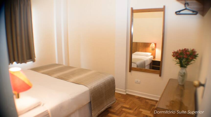 Todo conforto centro S.Paulo - Suite Superior II