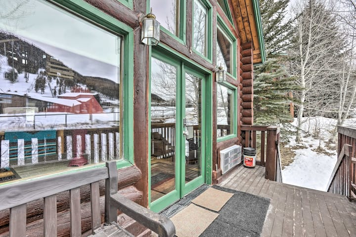 NEW! Rustic Jackson Hole Abode w/ Snow King Views!