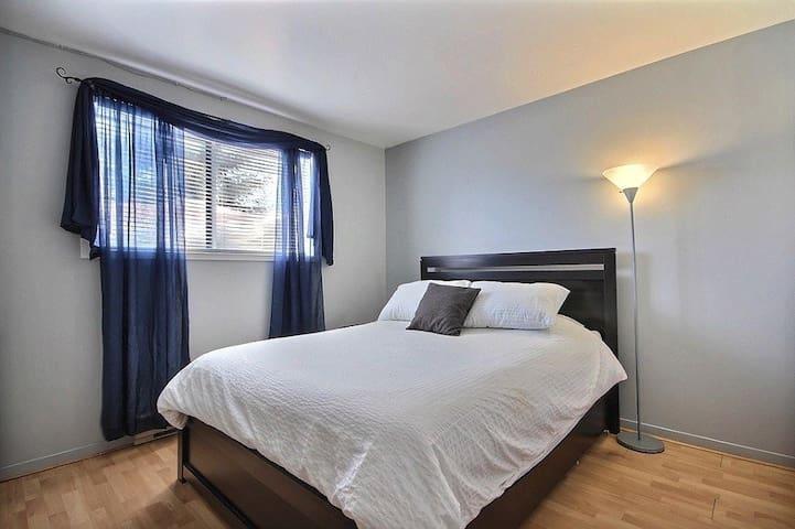 Chambre et salle de bain privées à Val Bélair - Ville de Québec - Kondominium