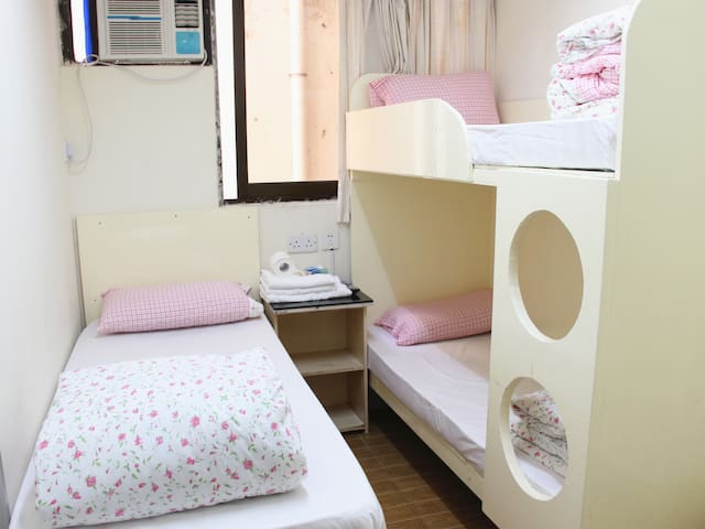 Comfortable and clean TripleRoom&YT