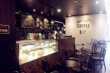 Coffee in Hilton Tower Lobby 希尔顿大堂咖啡店