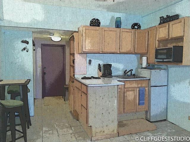 Cliff Guest Studio - GU - Apartment